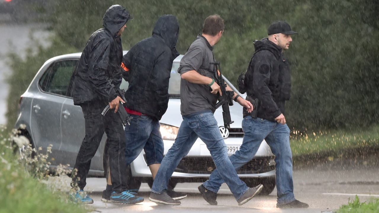 В Швейцарии арестовали нападавшего с бензопилой