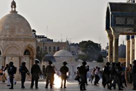 Вокруг мечети Аль-Акса убрали все заграждения