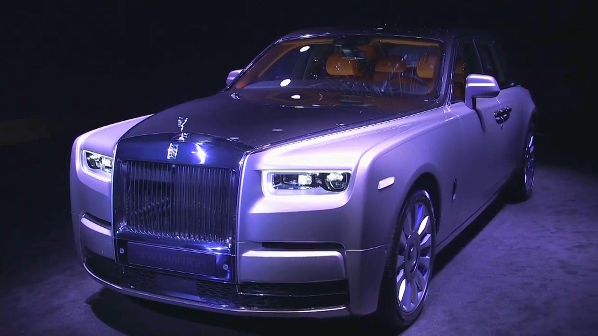Новый Phantom: Rolls-Royce представил «символ роскоши»