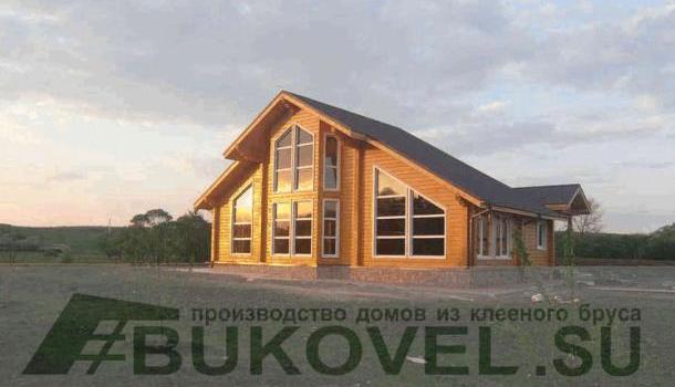 Дом из клееного бруса в Москве – воплощение мечты