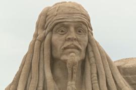В польском Щецине проходит фестиваль песчаных скульптур