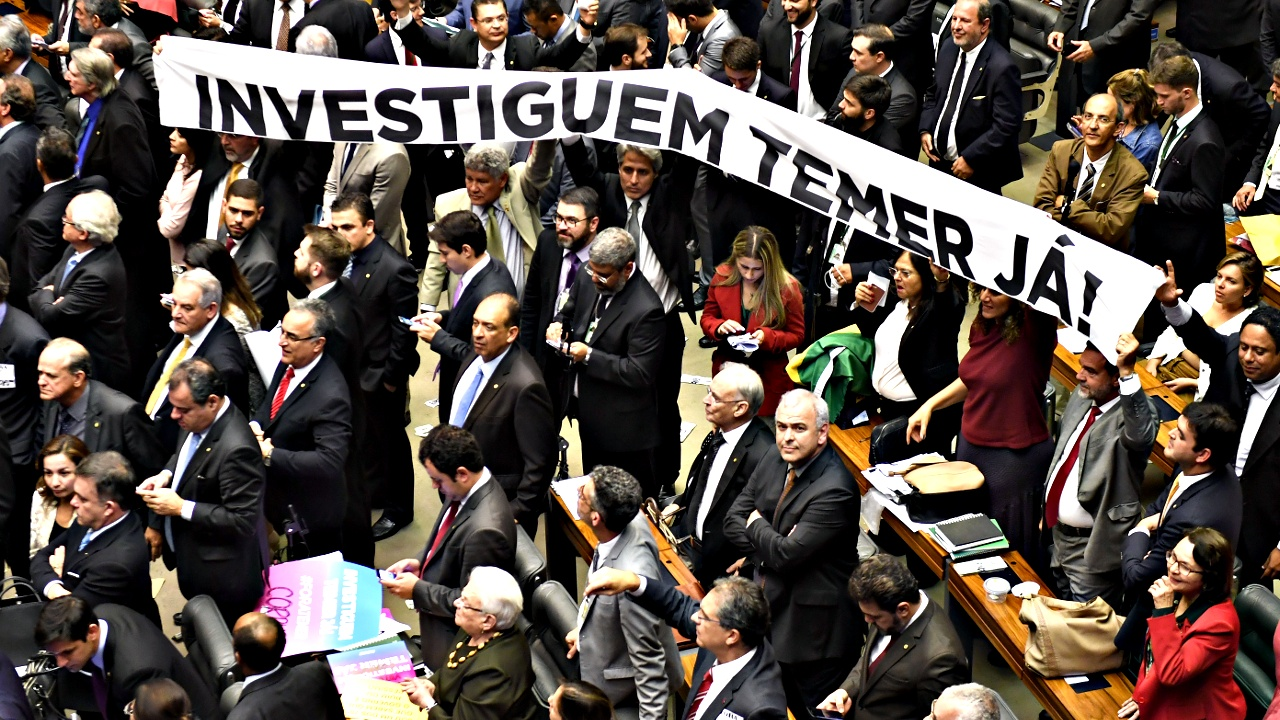 Парламент Бразилии не поддержал обвинений против президента