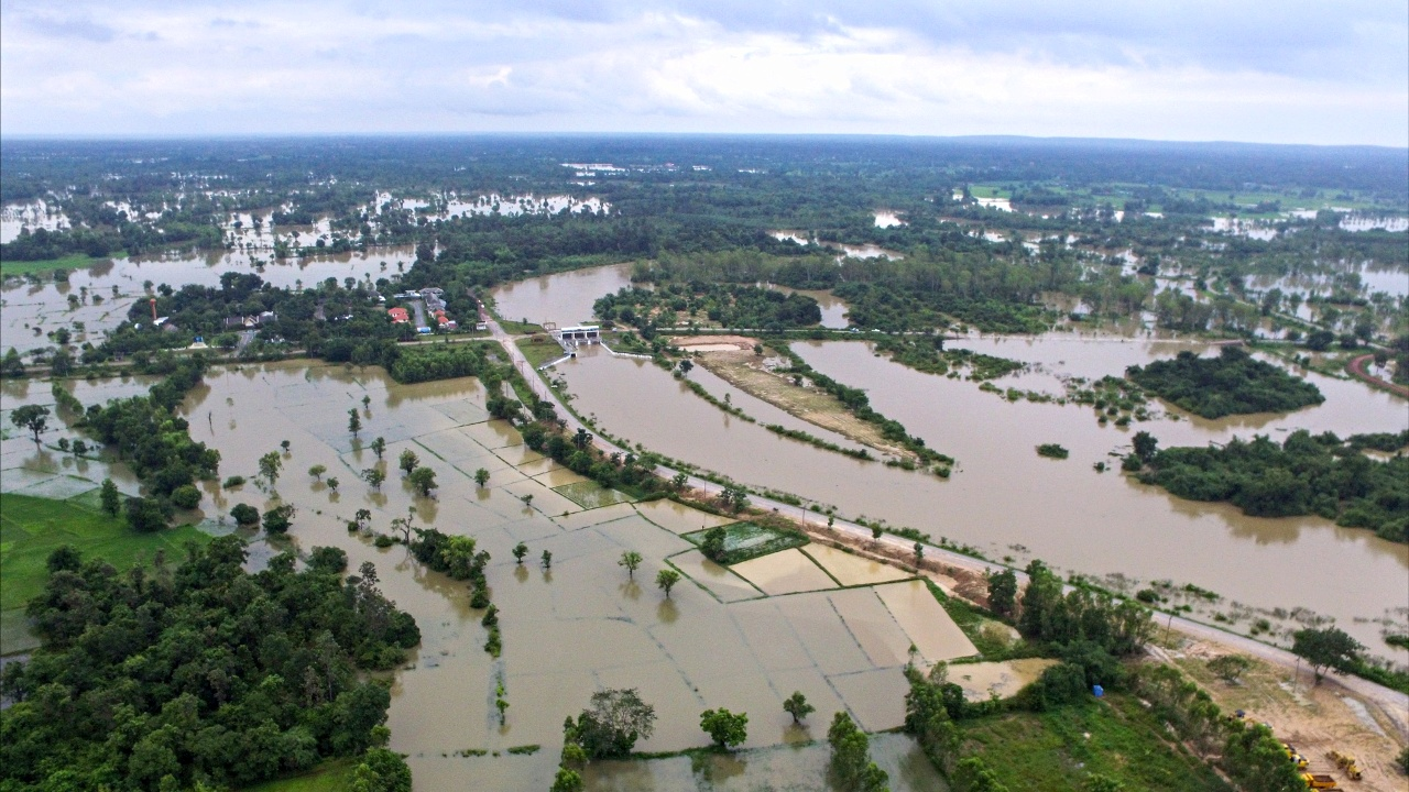 Сезонные наводнения в Таиланде: более 20 погибших