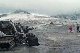 Из-за жары в Италии закрыли летний горнолыжный курорт