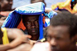 У берегов Ливии спасли почти 140 мигрантов из Африки