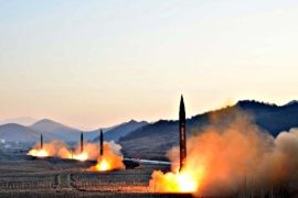 Северная Корея угрожает ракетным ударом по военной базе США