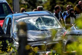 Во Франции арестовали подозреваемого в наезде на солдат
