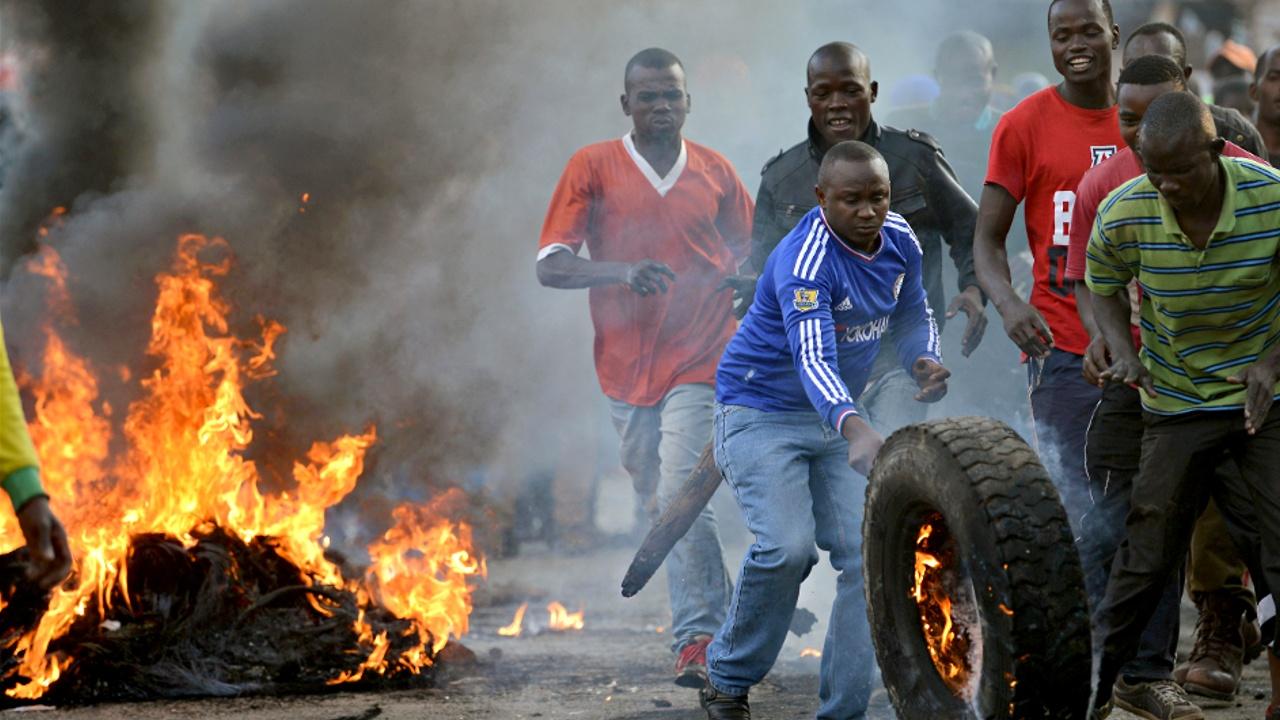 В Кении вспыхнули протесты после президентских выборов