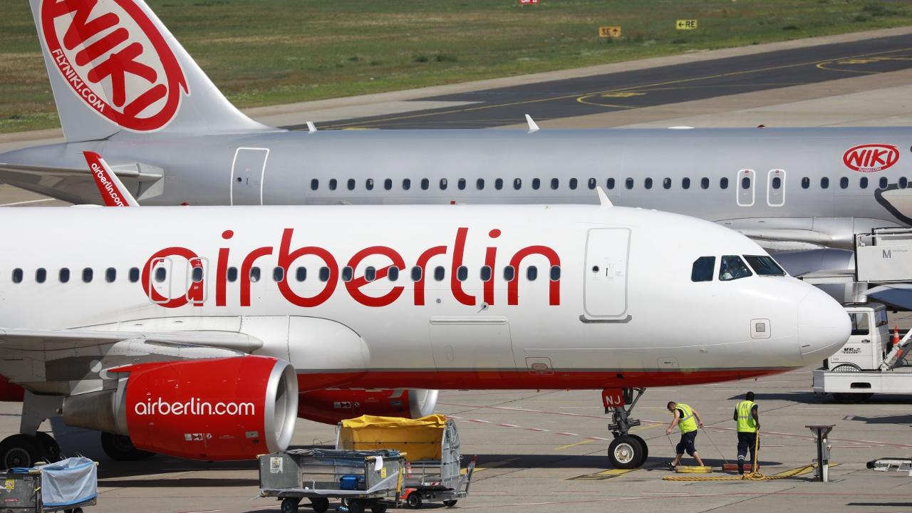 Обанкротившейся Air Berlin выделят кредит в размере €150 млн
