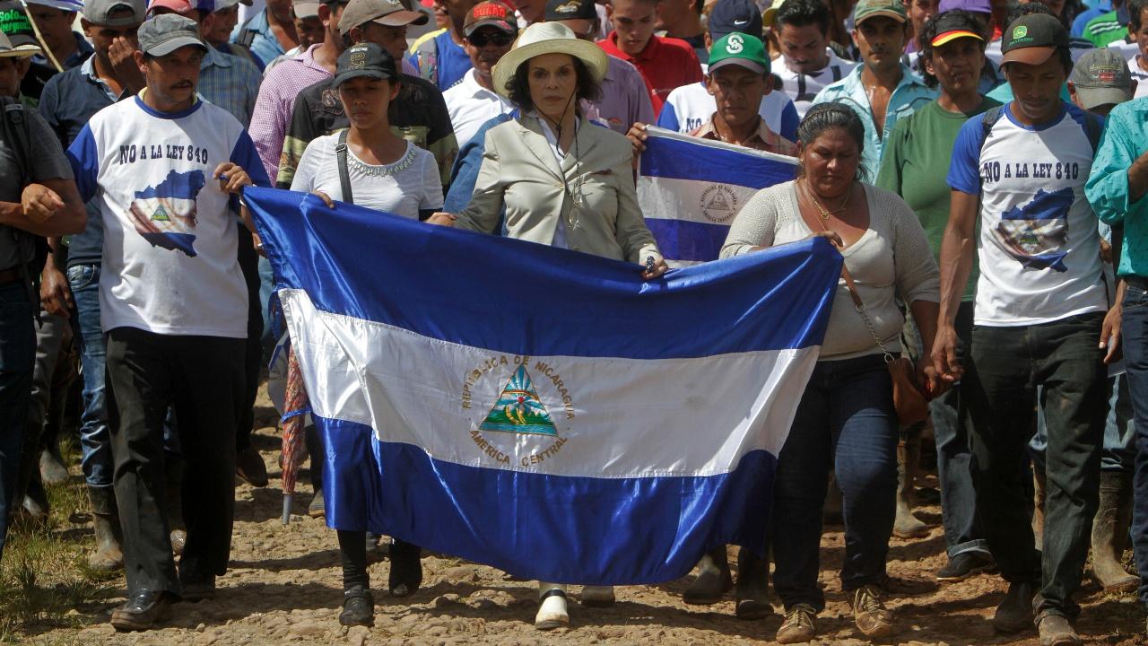 Фермеры Никарагуа протестуют против трансокеанского канала