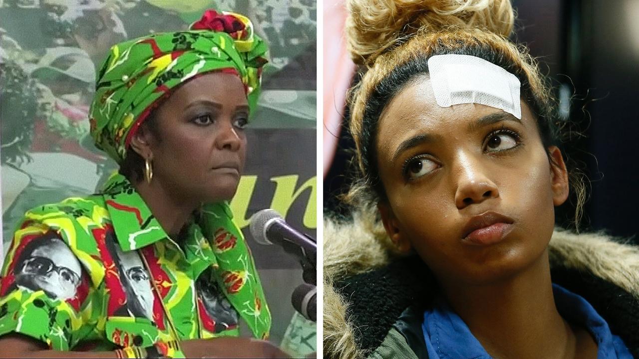 Жену диктатора Зимбабве хотят судить за избиение модели