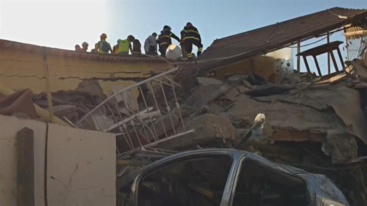 Землетрясение в Италии, есть жертвы