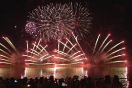 Небо над Москвой озарили фейерверки лучших пиротехников мира