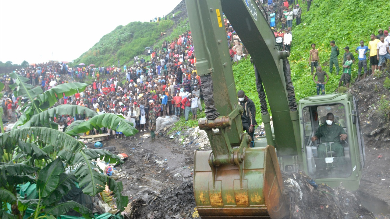 Число жертв схода оползня в Гвинее возросло