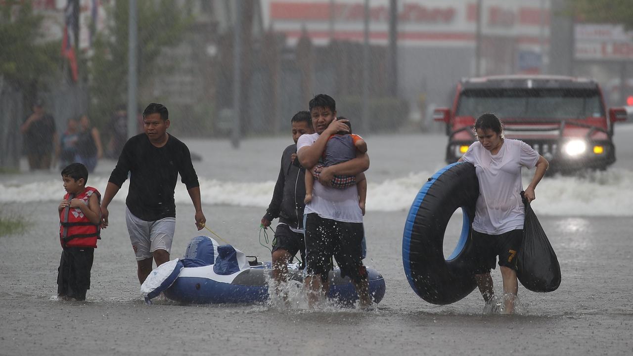 «Харви» принёс в Техас мощнейшее наводнение