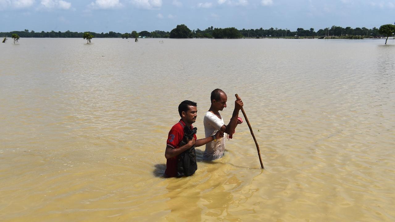 Наводнение на востоке Индии: более 2 млн пострадавших, более 500 погибших