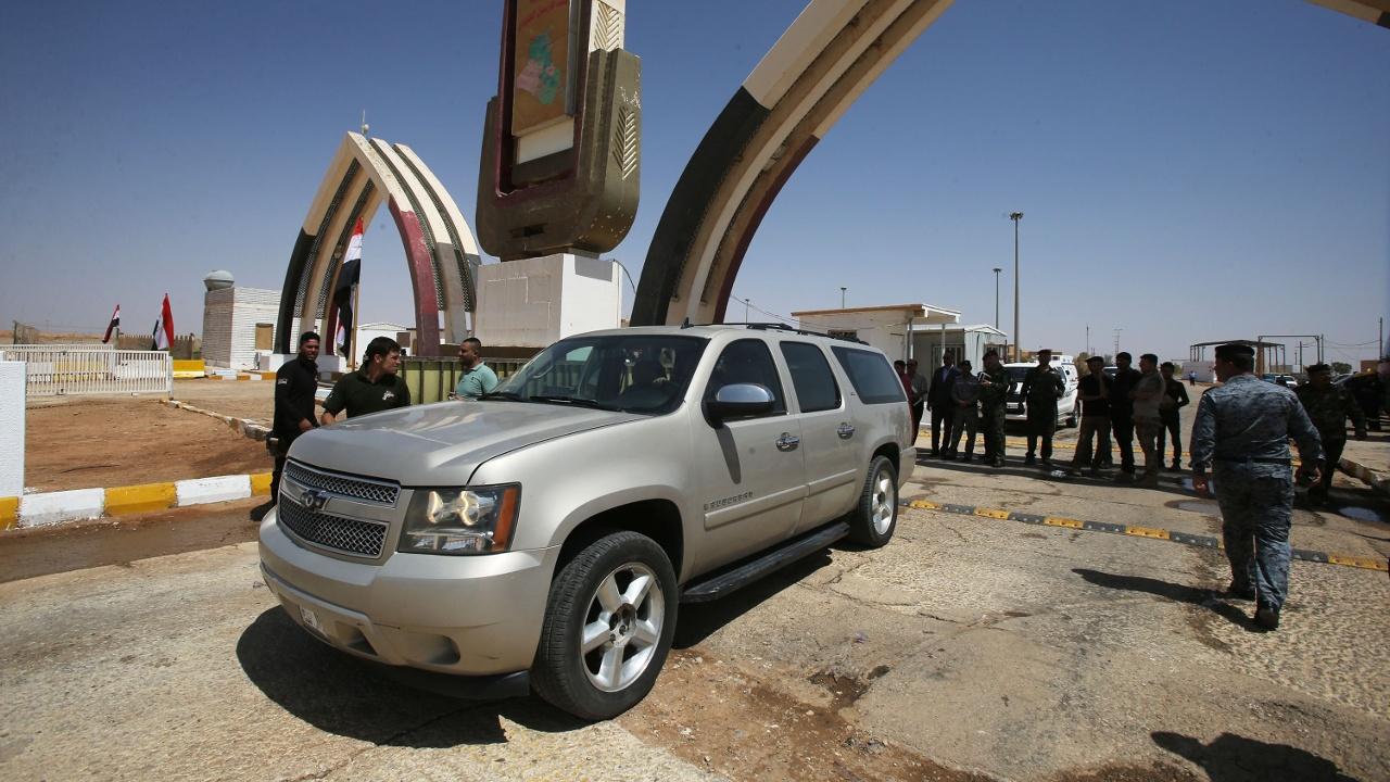 Открыт освобождённый от ИГИЛ пограничный переход между Ираком и Иорданией