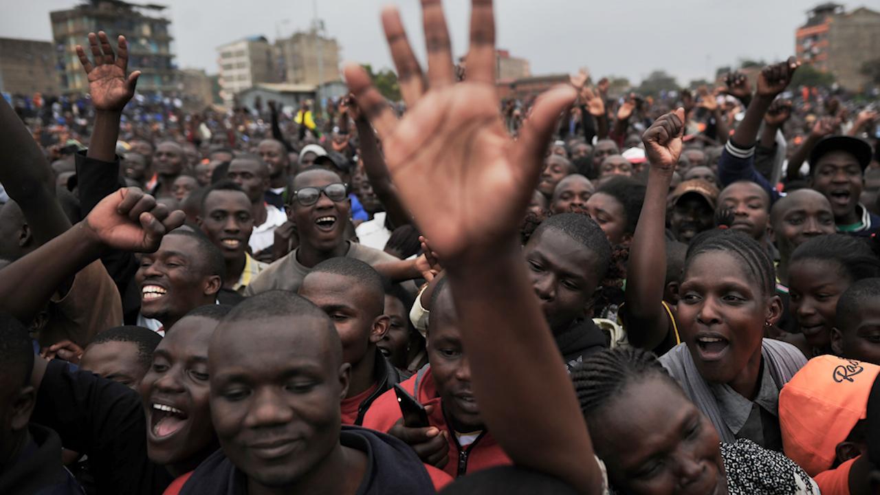 Повторные выборы президента в Кении назначили на 17 октября