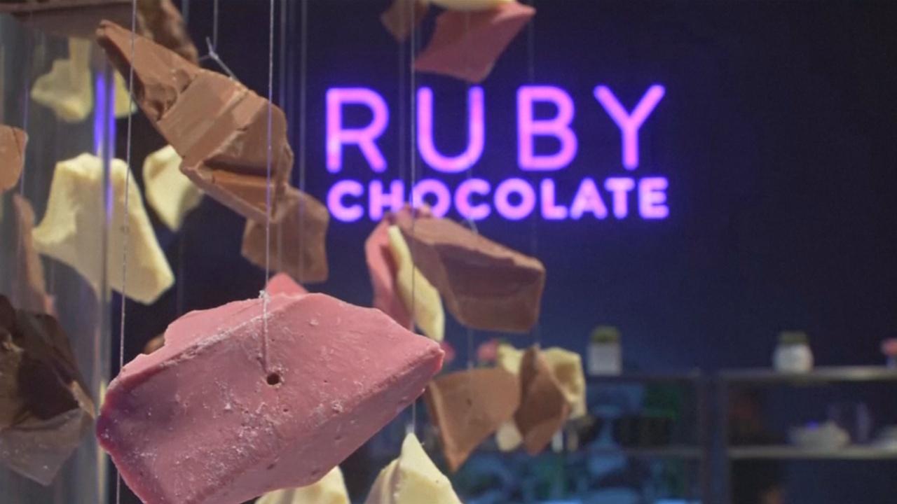 Создали новый вид шоколада — рубиновый