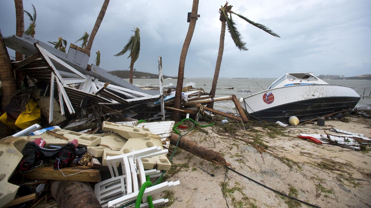 Ураган «Ирма» оставил после себя масштабные разрушения