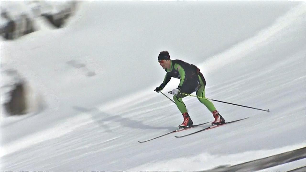 В Новой Зеландии прошли соревнования на беговых лыжах