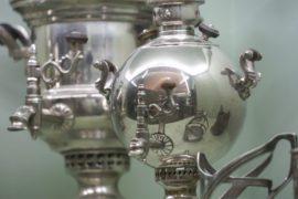 Антикварные самовары расскажут о традициях чаепития до революции