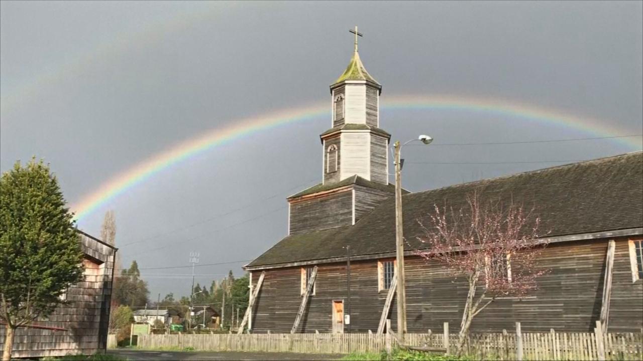 Деревянные церкви острова Чилоэ — гордость Чили