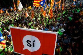 В Каталонии стартовала кампания по референдуму о независимости