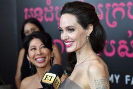 Анджелина Джоли представила свой новый фильм о геноциде в Камбодже