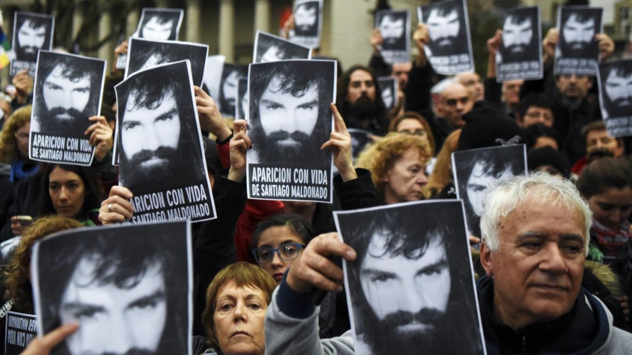 Пропажа активиста напомнила о «Грязной войне» в Аргентине