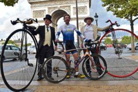 Шотландец побил рекорд Гиннесса, обогнув земной шар на велосипеде