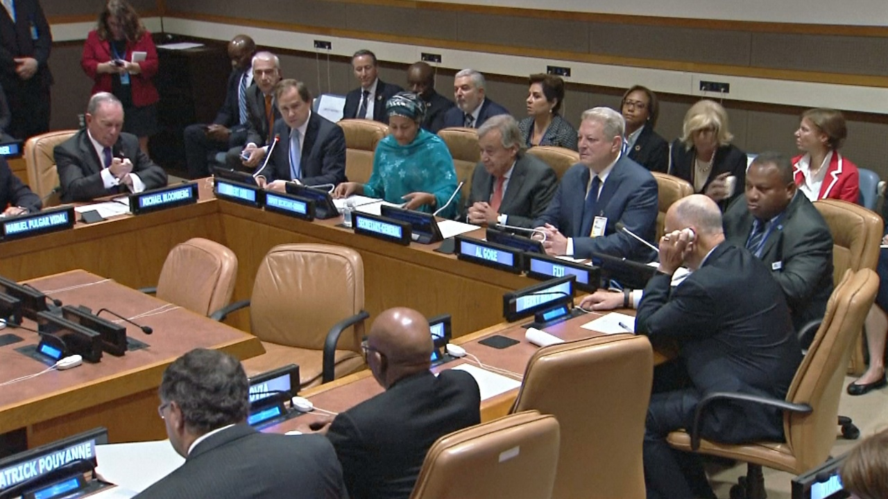 В ООН обсудили изменение климата, несмотря на противостояние Белого дома