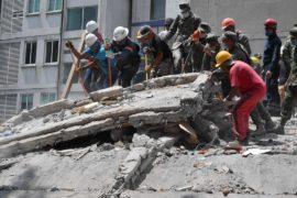 Число жертв землетрясения в Мексике превысило 230