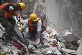 Землетрясение в Мексике: шансов найти выживших всё меньше