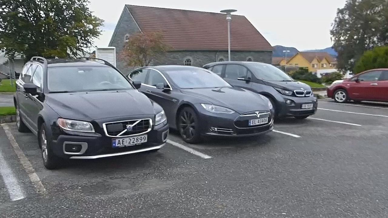 На норвежском острове Финнёй каждый пятый автомобиль — электрокар