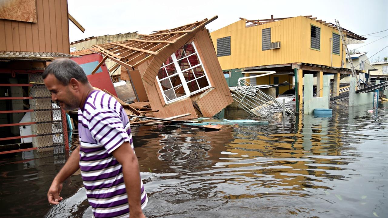 Ураган «Мария» полностью обесточил Пуэрто-Рико