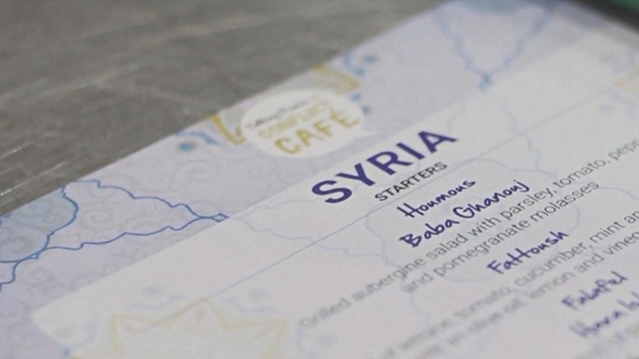 В меню лондонского ресторана – сирийский конфликт