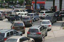 Очереди за бензином: нефтедобывающая Венесуэла не справляется с кризисом