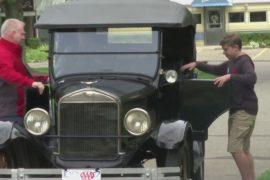 Музей в США учит водить знаковый ретро-автомобиль Ford Model T