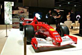 Sotheby's выставит на торги болид Шумахера Ferrari F2001