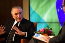 Мишелу Темеру не доверяют уже 92% бразильцев