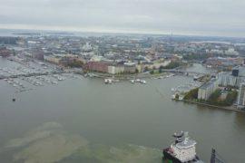 Финны попарились в сауне на высоте 120 метров над Хельсинки