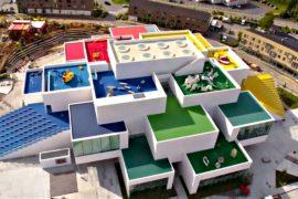 Гигантский дом Lego открылся в Дании