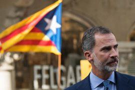 Король Испании назвал действия властей Каталонии опасными