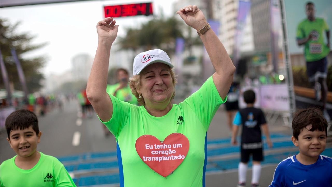 Новое сердце позволило 67-летней женщине заняться спортом