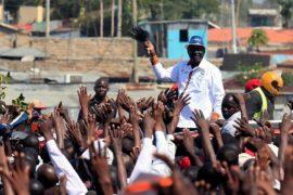 Лидер кенийской оппозиции отказался от выборов и призвал к протестам