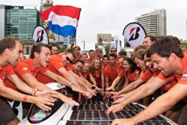 Экоралли World Solar Challenge-2017 выиграли нидерландцы