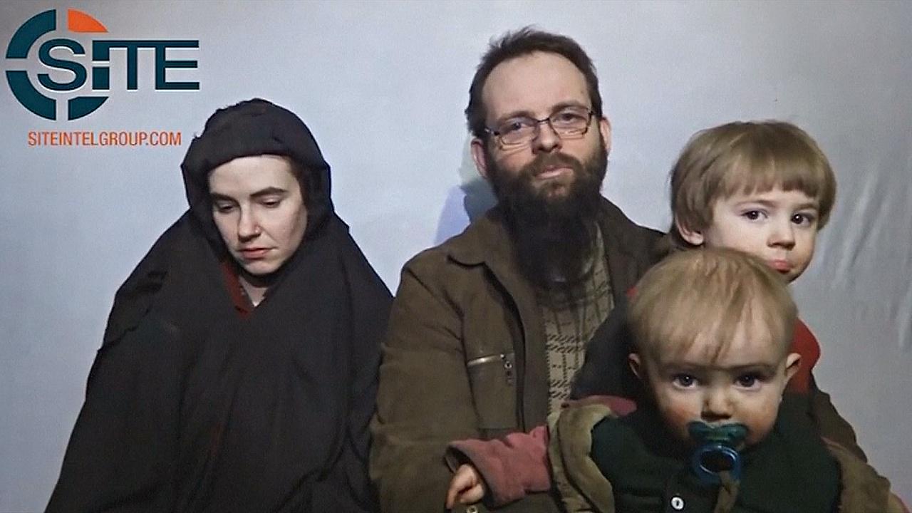 Из афганского плена освободили канадско-американскую семью