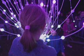 Фестиваль света Signal: Прагу озарили световыми инсталляциями