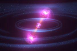 Учёные впервые увидели гравитационные волны и свет от столкновения звёзд